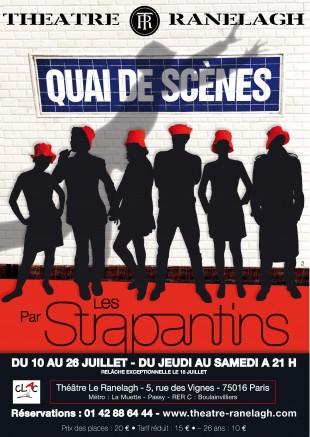 Quai de scènes, par Les Strapantins