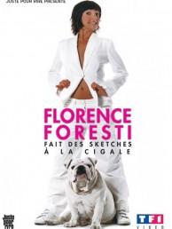 Florence Foresti fait des sketchs