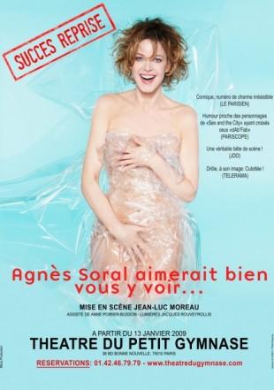 Agnès Soral aimerait bien vous y voir