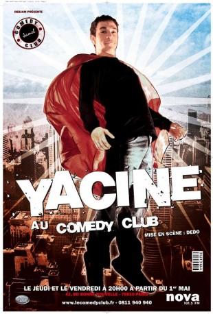 Yacine au Comedy Club, mis en scène par Dedo