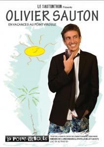 Olivier Sauton en vacances au Point Virgule