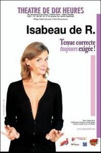 Isabeau de R. – Tenue correcte toujours exigée !