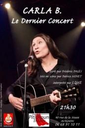 Lime – Carla B, le dernier concert.