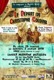 Le départ de Christophe Colomb