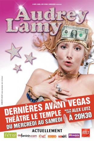 Audrey Lamy – Dernières avant Vegas
