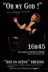 Edith Le Merdy – Oh my god ! (mes hommages au cinéma)