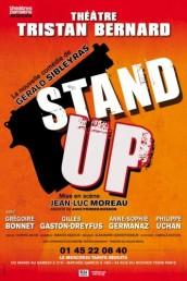 Stand-up, de Gérald Sibleyras, mise en scène Jean-Luc Moreau