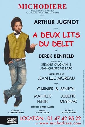 A deux lits du délit de Derek Benfield, mise en scène Jean-Luc Moreau