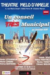 Un conseil très municipal, mise en scène Xavier Letourneur