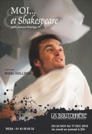 Moi… et Shakespeare – l'histoire de William Kemp par Nigel Hollidge