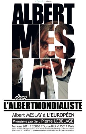 Albert Meslay – L'albertmondialiste