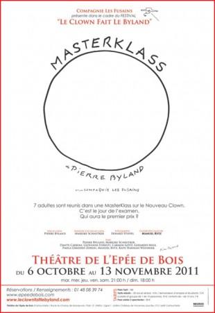 Masterklass 1 de Pierre Byland