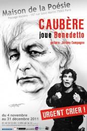 Urgent crier – Caubère joue Benedetto
