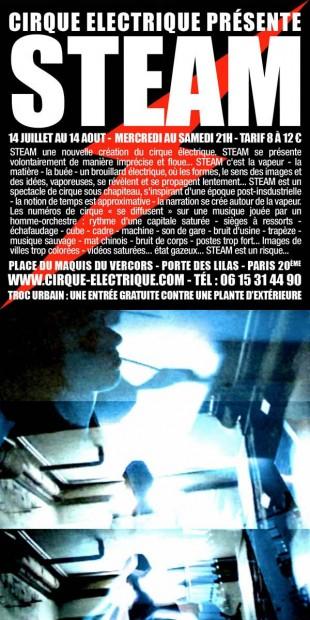 Cirque électrique – Steam, par Hervé de Keuleneer et Hervé Vallée
