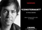 Thierry Samitier – Consternant