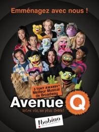 Avenue Q, show de marionnettes adapté par Bruno Gaccio
