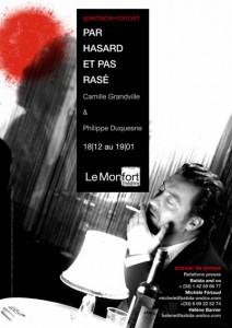 Philippe Duquesne en Gainsbourg – «Par hasard et pas rasé»