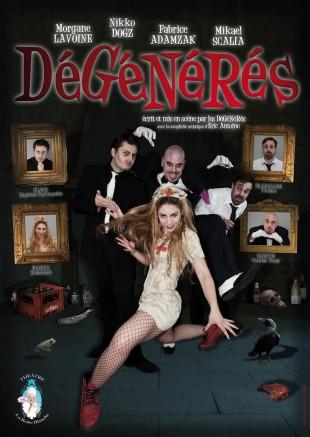Dégénérés – cabaret d'horreur avec Nikko Dogz et Fabrice Adamczak