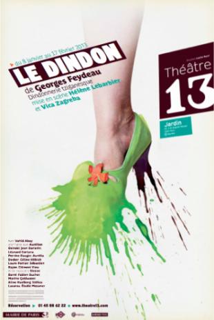 Le Dindon de Feydeau, par Hélène Lebarbier et Vica Zagreba