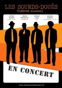 Les Sourds-doués, quatuor de musiciens burlesques