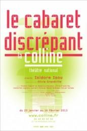 Le cabaret discrépant d'après Isidore Isou, par Olivia Grandville