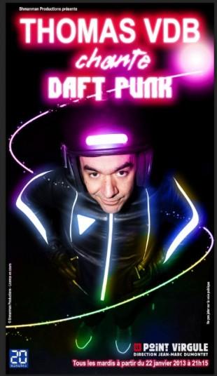 Thomas VDB Daft Punk critique Criticomique