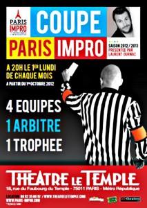 Coupe Paris Impro – l'équipe du Trocadéro affronte la LIQA
