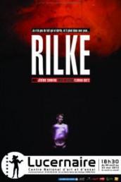 «Je n'ai pas de toit qui m'abrite, et il pleut dans mes yeux», de Rilke