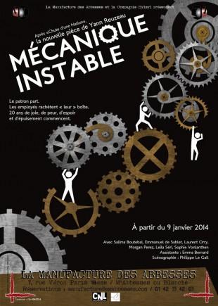 Mécanique instable de Yann Reuzeau