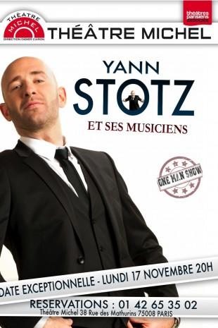 Yann Stotz et ses musiciens sur scène