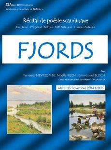 Fjords – Récital de poésie scandinave