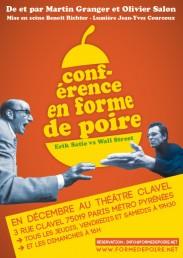 Conférence en forme de poire. Erik Satie vs Wall Street.
