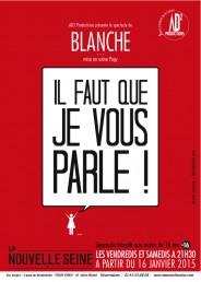 Blanche Gardin – «Il faut que je vous parle !»