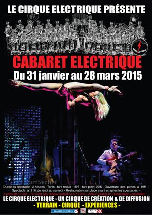 Le cabaret électrique, mis en scène par Hervé Vallée