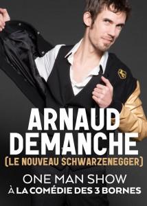 Arnaud Demanche –  le nouveau Schwarzenegger