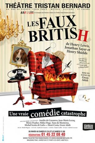 Les Faux British, mis en scène par Gwen Aduh