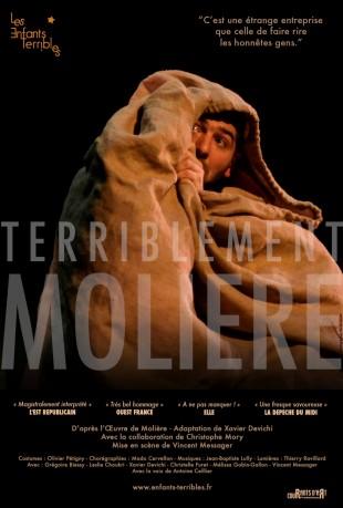 Terriblement Molière – Cie Les enfants terribles