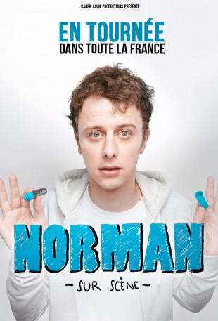 Norman sur scène, mis en scène par Kader Aoun