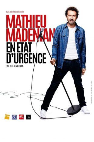 Mathieu Madénian – En état d'urgence, mise en scène Kader Aoun