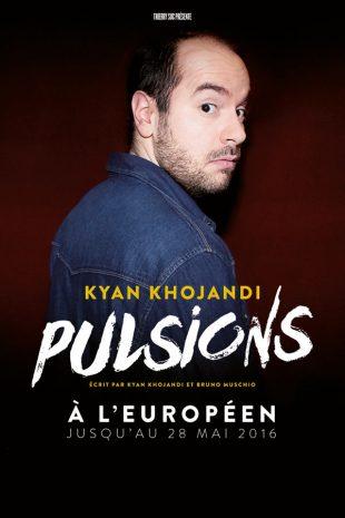 Kyan Khojandi dans Pulsions, co-écrit par Navo