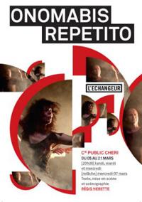 Onomabis repetito, de Régis Hébette à l'Echangeur