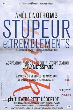 Stupeur et tremblements d'Amélie Nothomb, avec Layla Metssitane