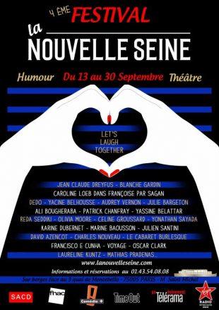 Le 4e festival de la Nouvelle Seine, du 13 au 30 Septembre 2016