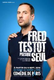 Fred Testot – presque seul
