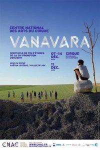 Vanavara – Spectacle de fin d'études de la 28e promotion du CNAC