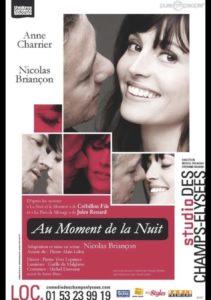 Au moment de la nuit, de Crébillon Fils et Jules Renard, par Nicolas Briançon