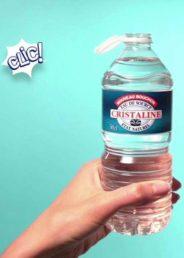 Petite bouteille de Cristallne - DR