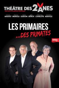 Les primaires… des primates, par la troupe des chansonniers des 2 Ânes
