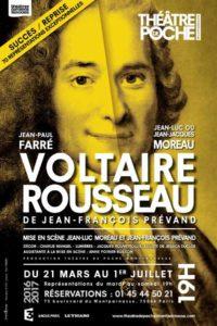 Voltaire Rousseau, de Jean-François Prévand