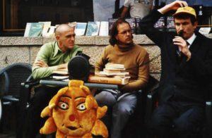 Le cabaret philosophique lors de l'un de ses première représentations à Lille en novembre 2001